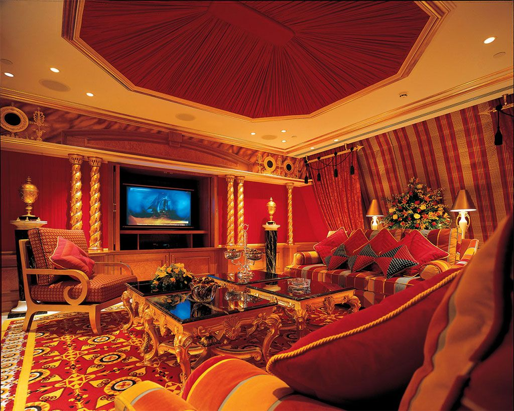 Royal Suite At Burj Al Arab.