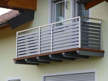 kombination aus edelstahl mit aluminium lamellen balkongel nder pinterest lamellen. Black Bedroom Furniture Sets. Home Design Ideas