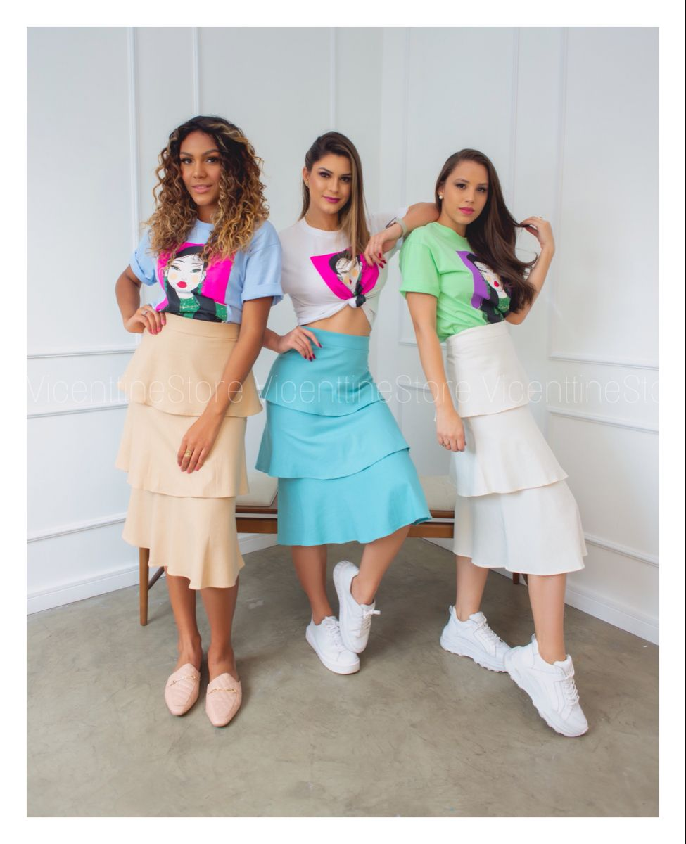 A Vicenttine Store montou essa opção super despojada e moderna para você que ama um look super diferente e confortável. . . . #modafeminina #love #summer #verao #tendencia #2020 #dicasdemoda #lookdodia