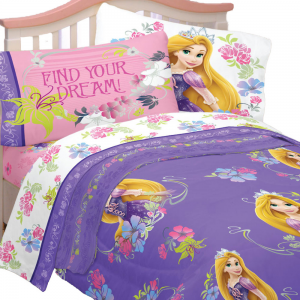 Disney Tangled Twin Bedding Set Rapunzel Princess Style Bed Features One S Setstwin