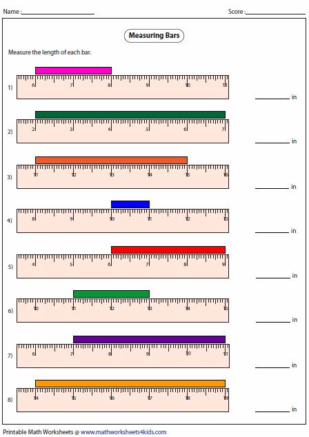 measuring length of the bar teaching stuff pinterest bar search and measurement worksheets. Black Bedroom Furniture Sets. Home Design Ideas