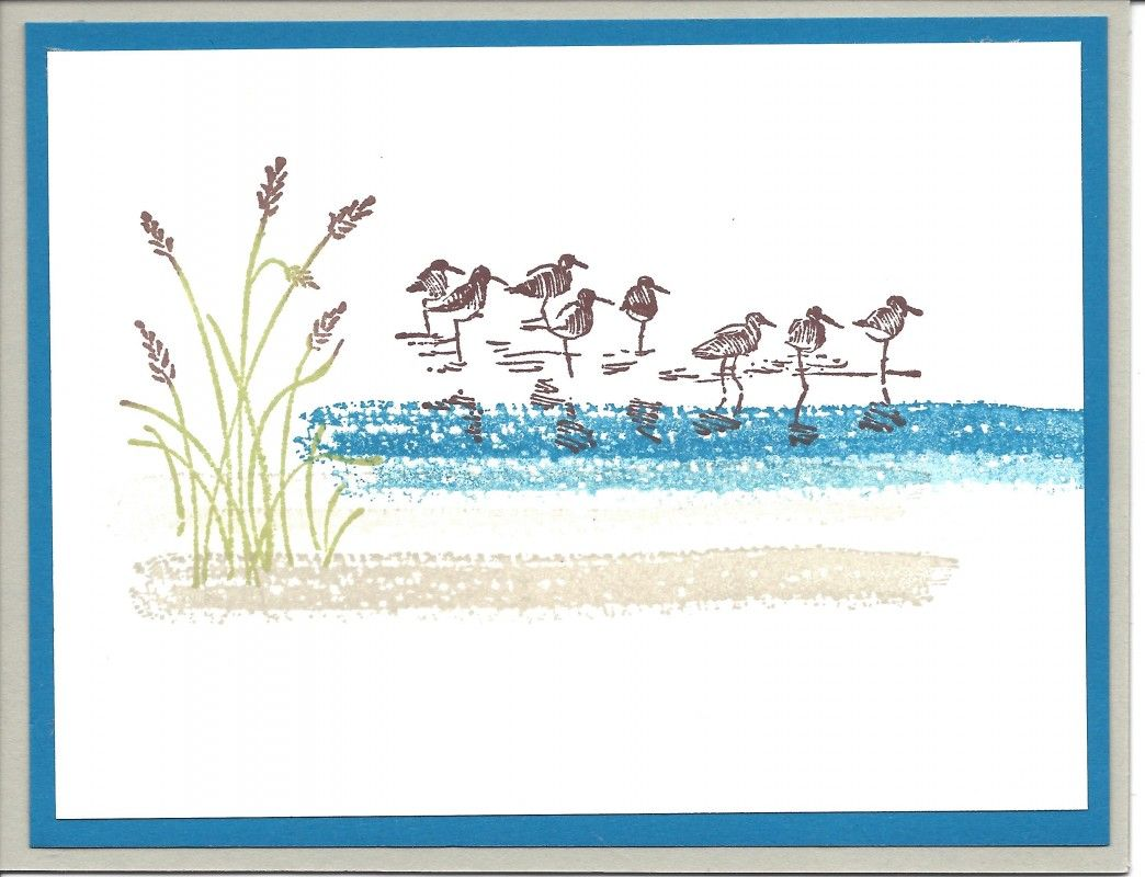 Rubber stamps arts and crafts - Wetlands Homemade Cards Rubber Stamp Art Paper Crafts Splitcoaststampers Com