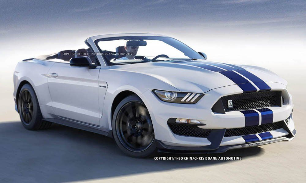 head inside to gtspirit to see how a ford mustang shelby gt350 convertible could look even