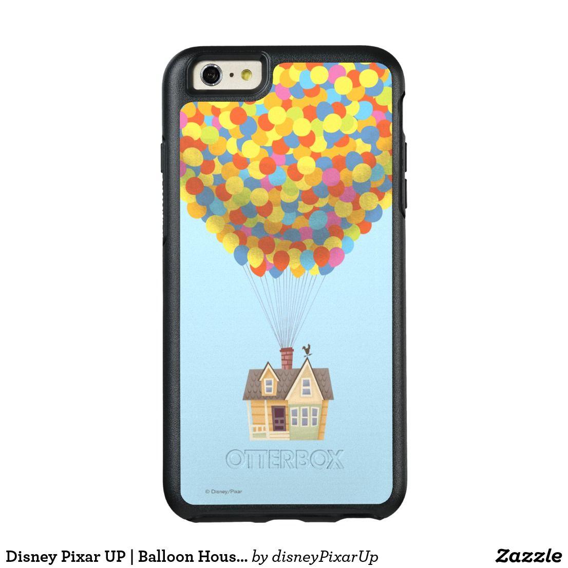 Disney Pixar Up Balloon House Pastel Otterbox Iphone Case Zazzle Com Disney Pixar Up Iphone Cases Otterbox Disney Up