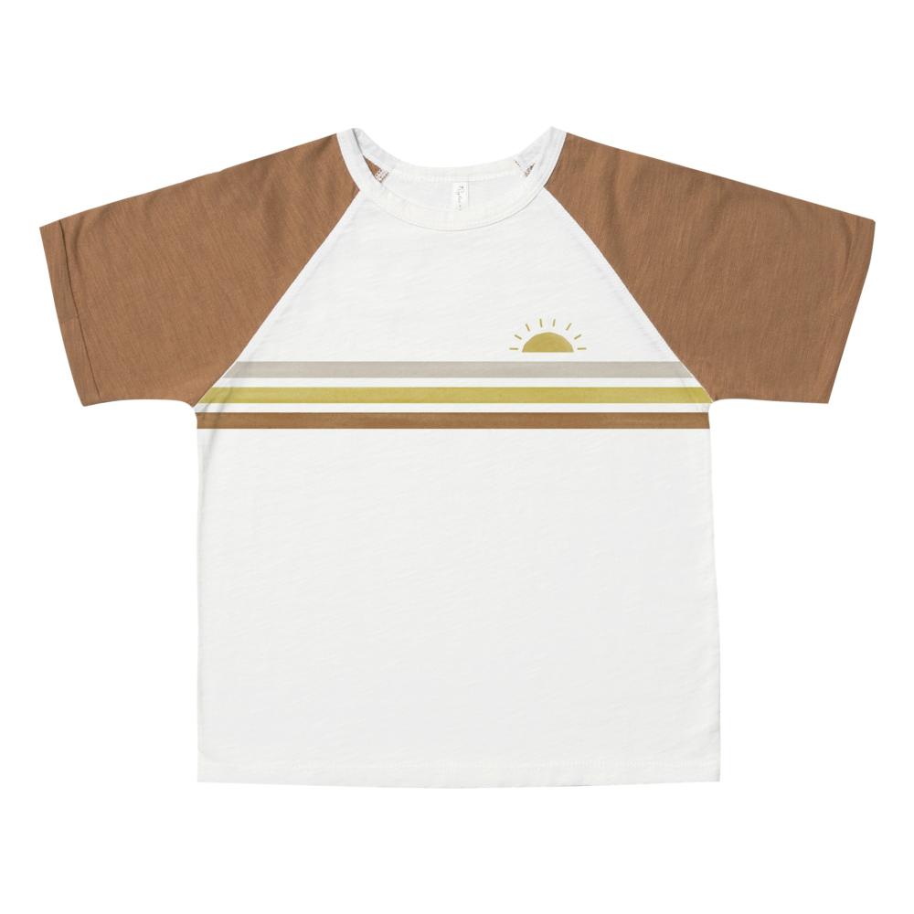BabyToddler Camel Print Raglan Tee Baby Boy Summer Clothes