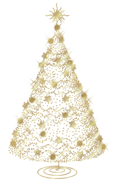 Transparent Christmas Gold Tree PNG Clipart | Imágenes navidad ...