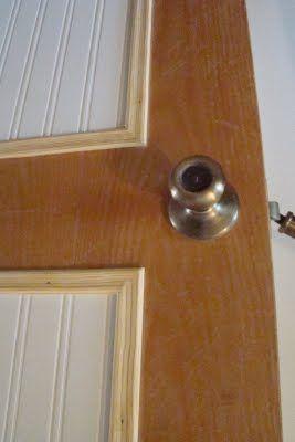 Diy Beadboard Door Rock The Vote Reveal Door Makeover Diy Beadboard Door Makeover