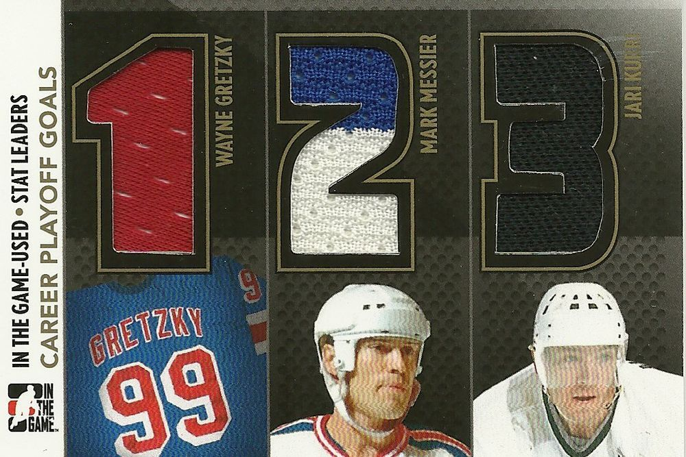 Details about 1314 In The Game Used Wayne Gretzky Mark