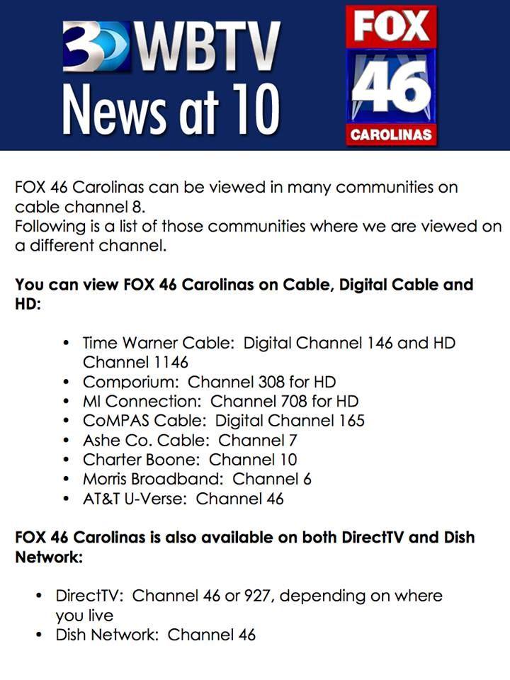 The 10pm news moves BACK to WJZY tonight!!!! | FOX46 Carolinas