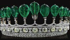 Magnificent and rare emerald and diamond tiara.