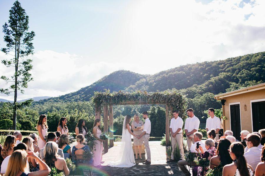 Josie Jake Orara Valley Estate Wedding Photography Coffs Harbour Photographer