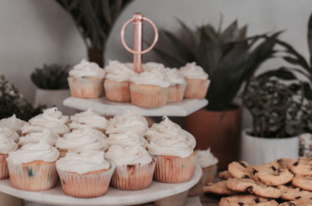 Apfel-Zimt-Cupcakes mit Mascarpone Frosting