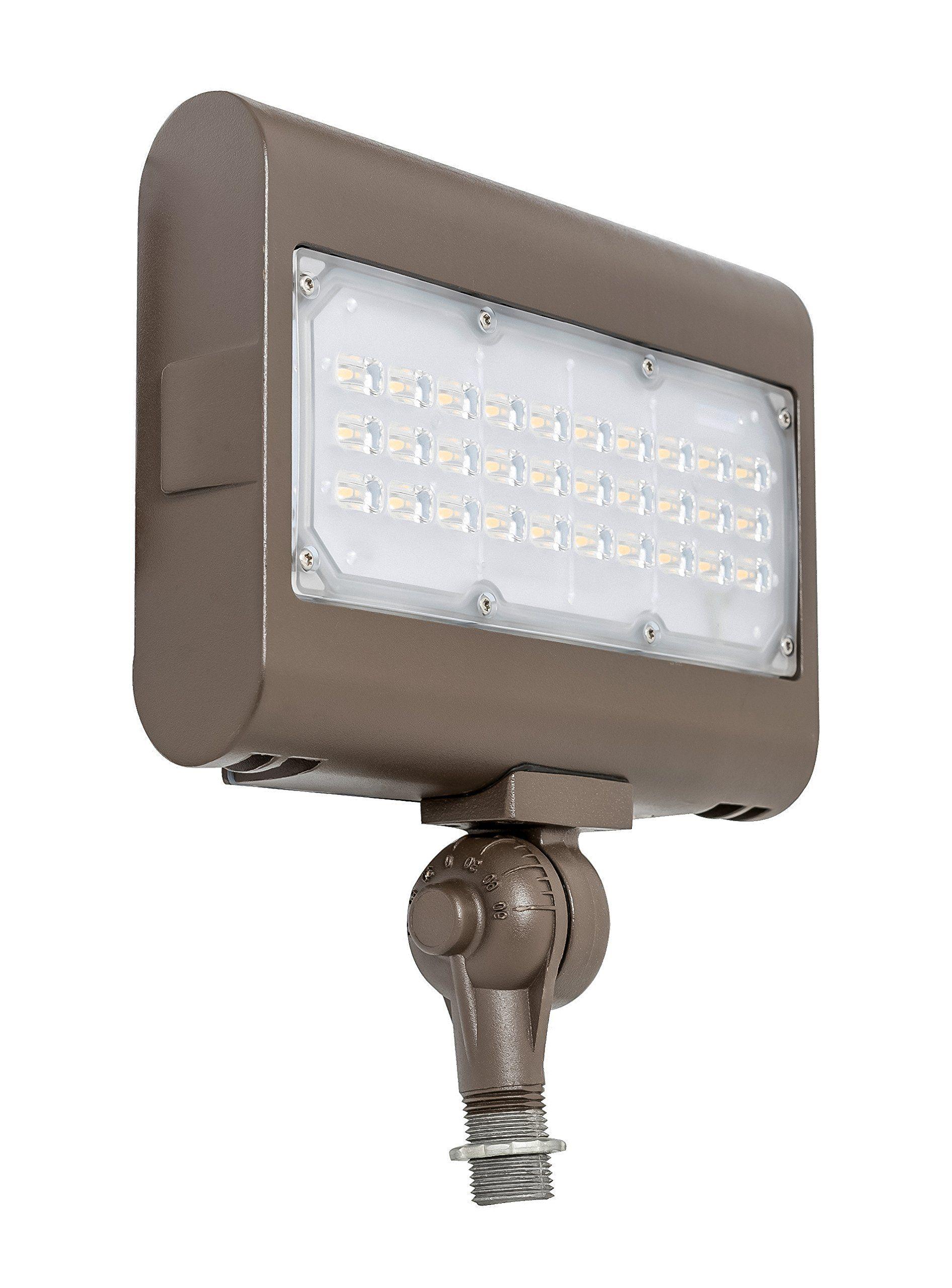 Westgate Lighting Led Flood Light With Knuckle Mount Best Security Floodlight Fixture For Outdoo Outdoor Flood Lights Outdoor Security Lights Led Flood Lights