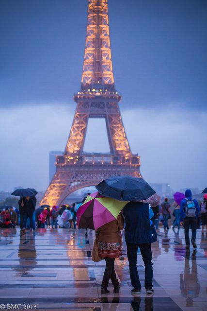Ya know what? I don't care if it DOES rain on me next Spring. It will be raining on me in PARIS. Can't get much better… | Eiffel tower, Tour eiffel, Paris