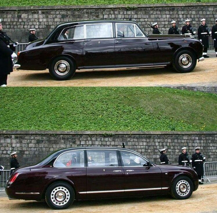 Bottom: Royal Bentley State Limousine