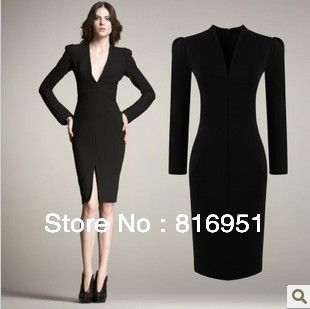 ladies professional clothing womens business wear elegant dress ...