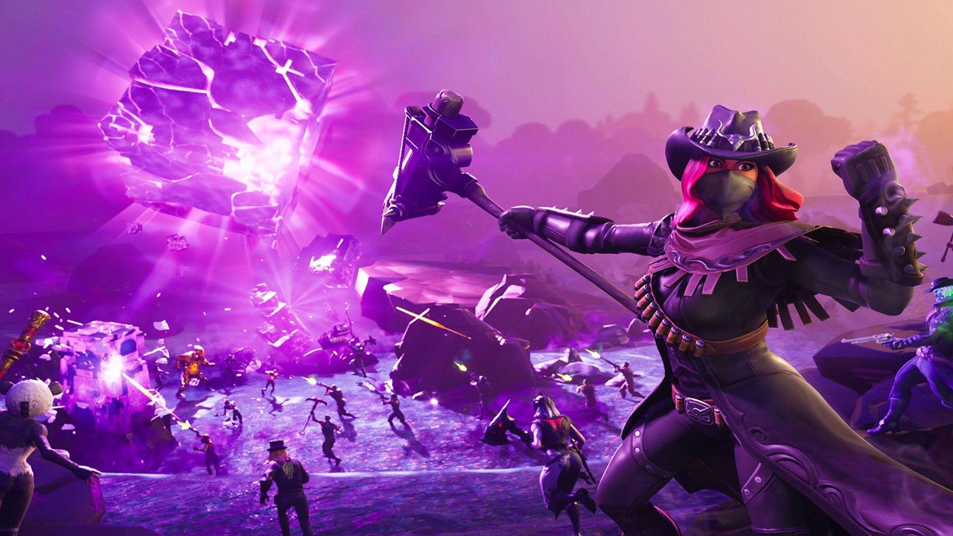 Fortnite Desktop Wallpapers Hd Em 2020 The Hunting Party Fortnite Papeis De Parede De Jogos