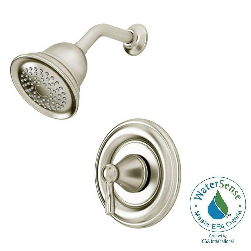 American Standard Marquette Single-Handle 1-Spray Shower Faucet in ...