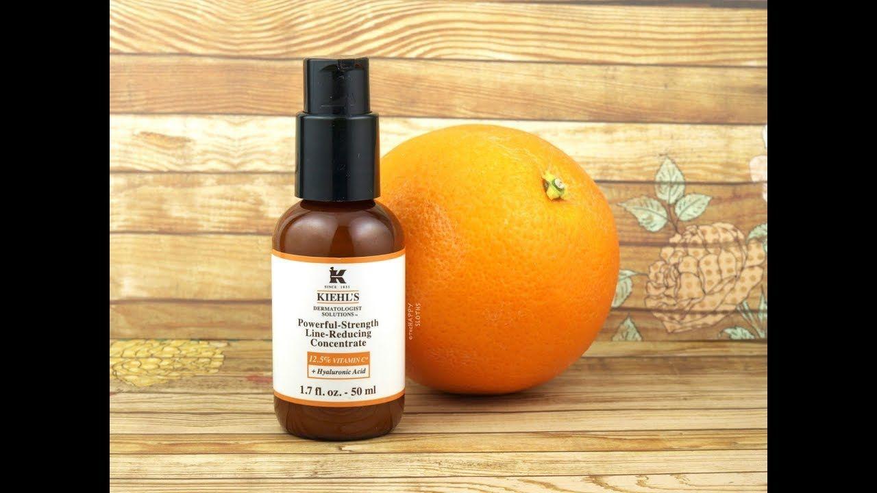 قطرات فقط من سيروم فيتامين سي كل يوم قبل النوم وشوفي جمال واشراقة بشرتك Vitamin C Serum Anti Aging Vitamins Kiehls