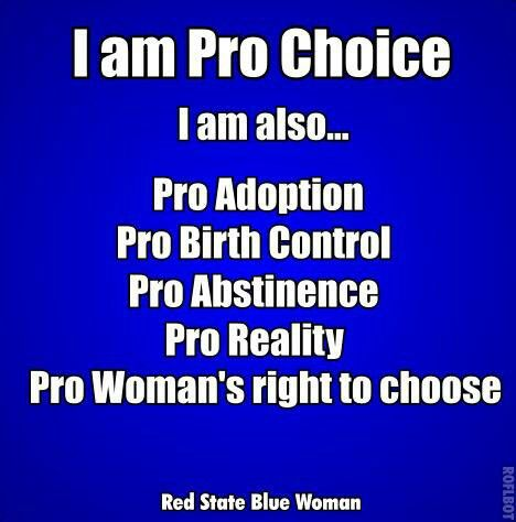 an argument in favor of womens right to choose abortion