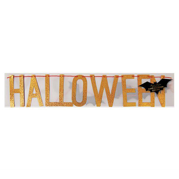 Meri Meri - Girlande Halloween bei www.party-princess.de #happyhalloweenschriftzug