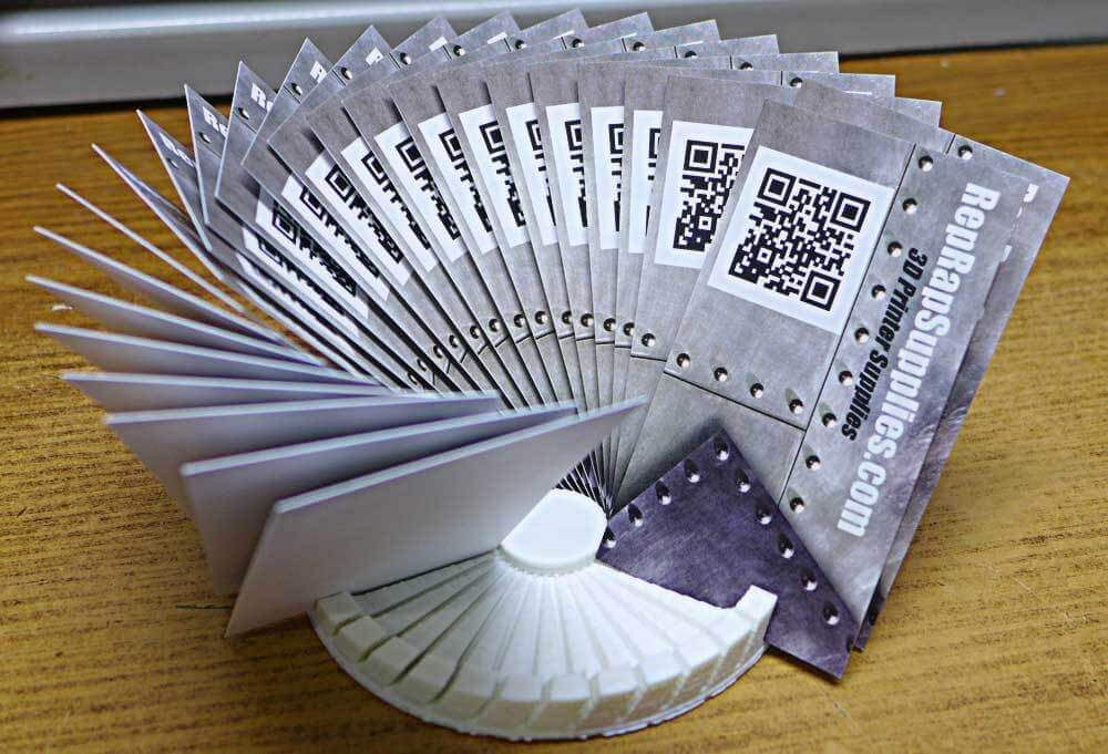 Visitenkartenhalter Selbst Gedruckt Mit Dem 3d Drucker