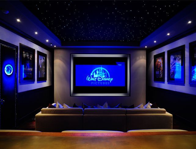 Home theater room for kids to watch movies. I would fill it with big ...