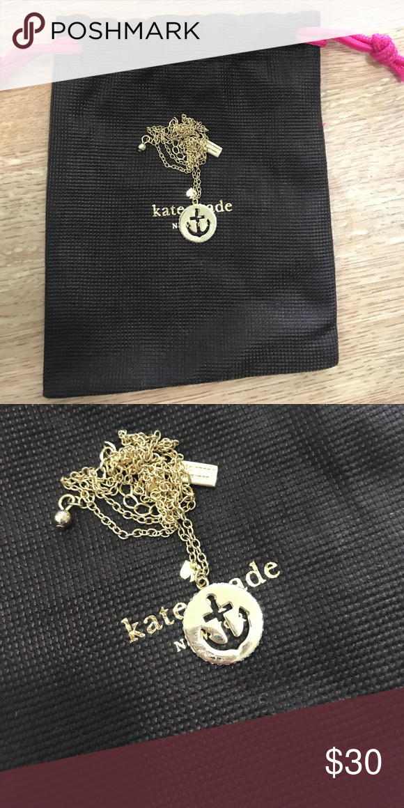 Kate Spade Anchor Necklace Anchor necklace kate spade Jewelry Necklaces