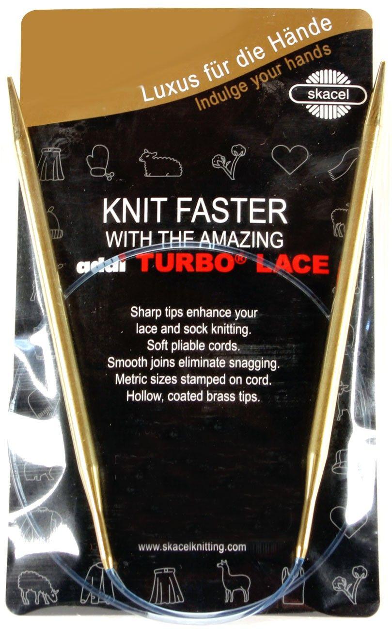 Addi turbo lace kniting needles circular circular