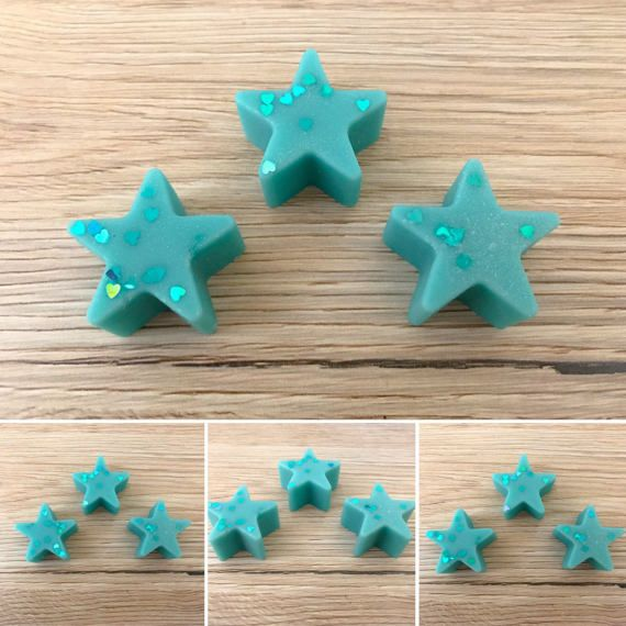 Soy Scented Wax Melt Stars Head Office Lush Dupe by Halliescents