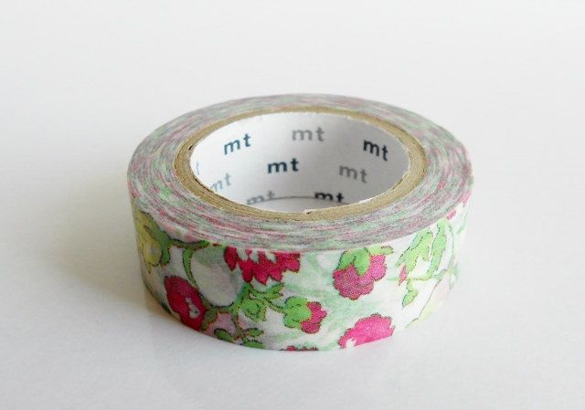 mt x Liberty of London Washi Masking Tape - Meadow - Limited Edition ...