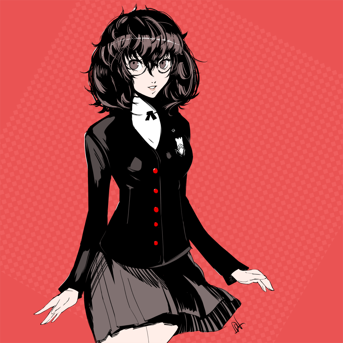 brinkofmemories: A female version of Joker from Persona 8!#WoOF