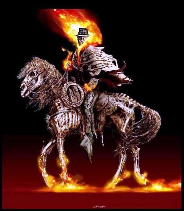 Ghost Rider(Carter Slade) | Ghost Rider Art | Ghost rider