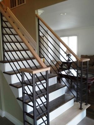Stair Railing Ideas For Inside Your Home Home Styling - Contemporary stair railing banister