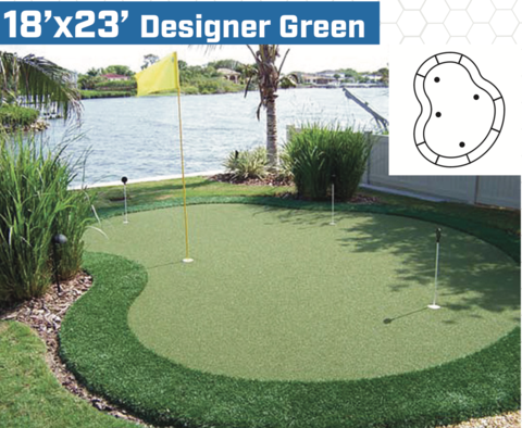 View Make A Putting Green In The Backyard Background ...