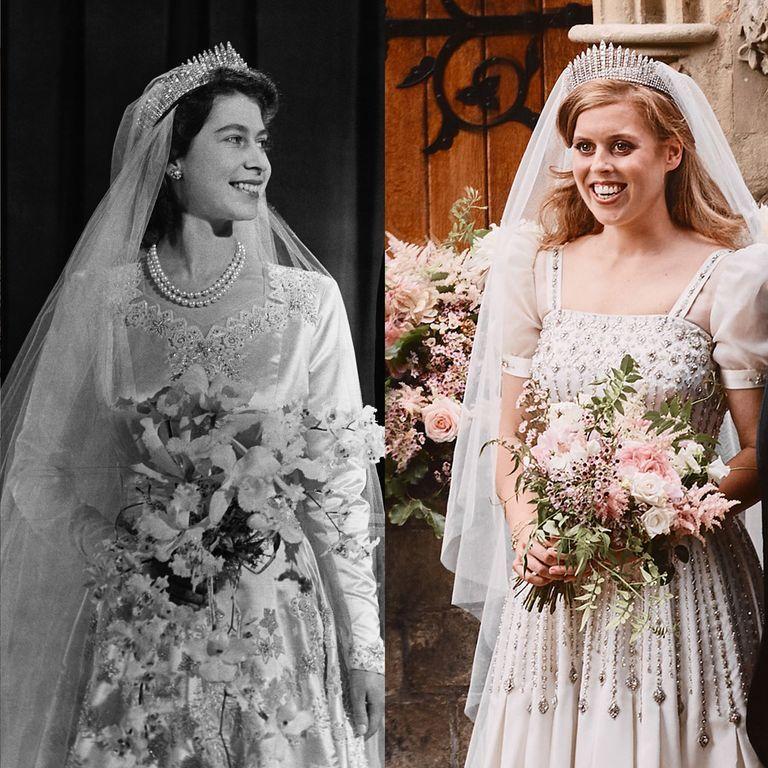 Princess Beatrice Wedding Dress Tiara In 2020 Princess Beatrice