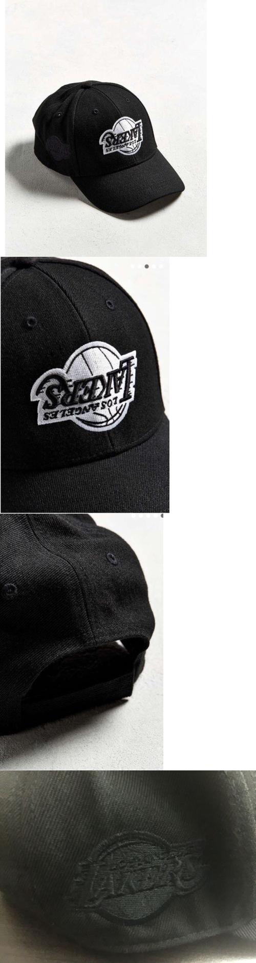 Hats 163543 Exclusive La Lakers Upside Down Logo Black White Cap Hat Adjustable Back Buy It Now Only 36 99 On Ebay White Caps Hats Caps Hats