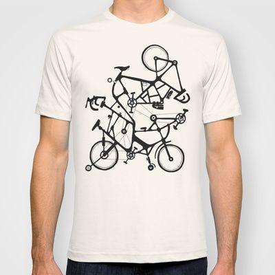 Bike Tuneup T-shirt by Alex Eben Meyer