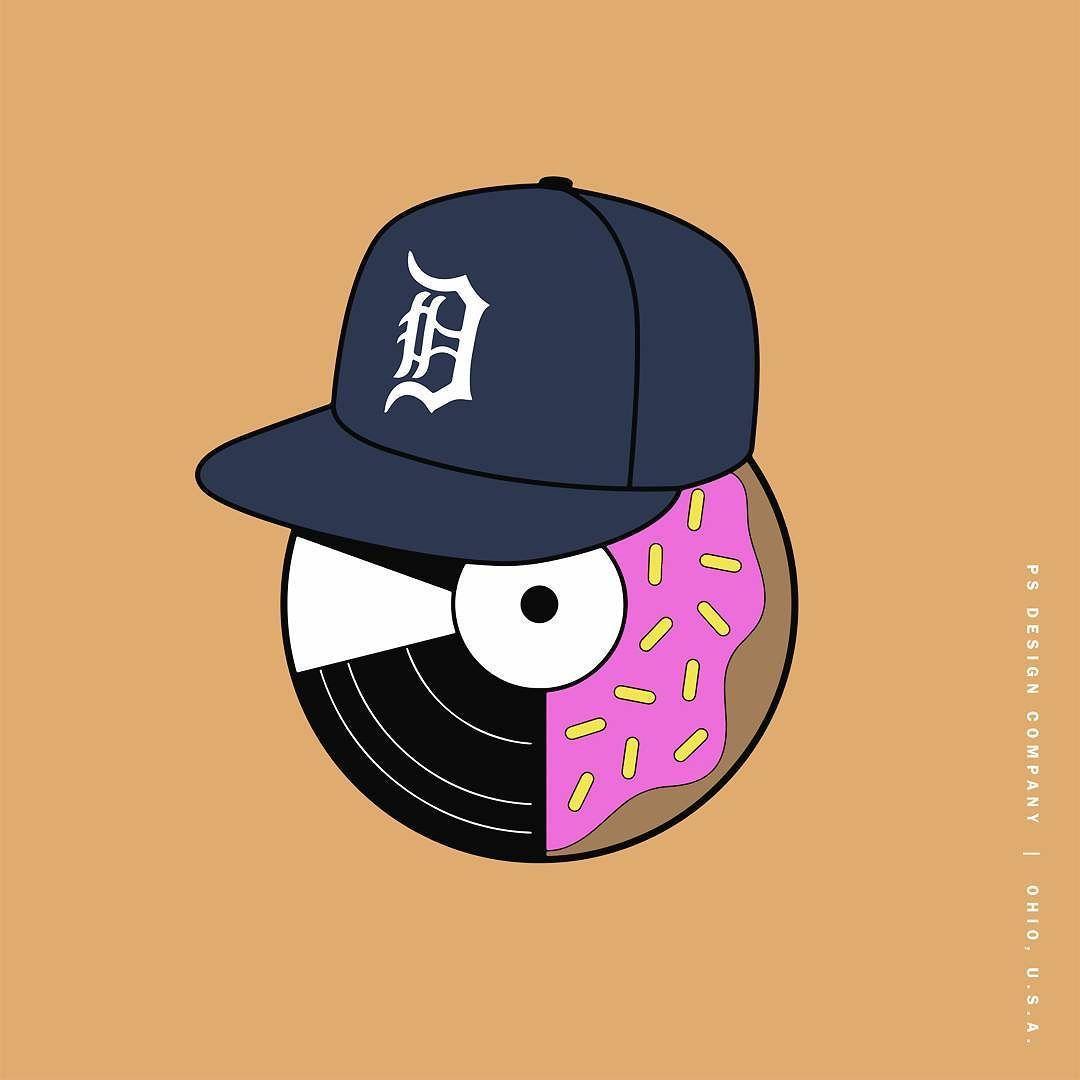 Last Donut of the Night #jdilla #dilla #donuts #vinyl
