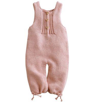 Modèle combinaison bébé en jersey
