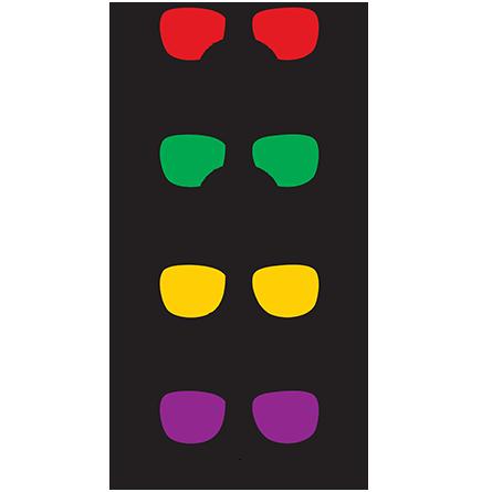 Glasses Of Family Mario Luigi Wario Waluigi
