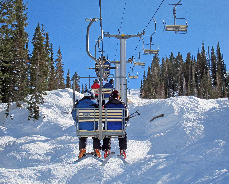 Chairlift Ski Park Park City Utah Park City
