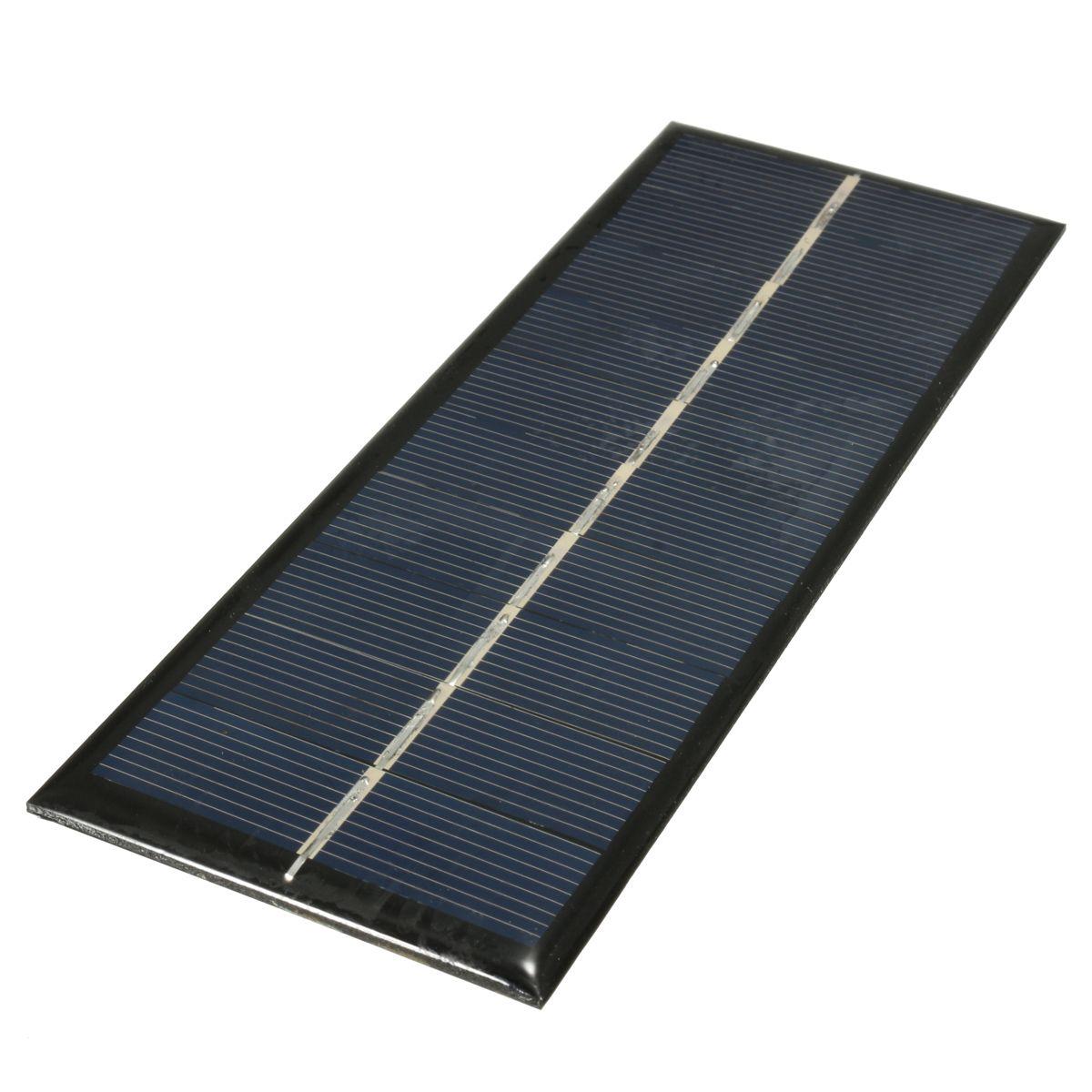 Scm Solar 1 3w 5v 163 60 3mm mini solar panel diy module for light cell phone