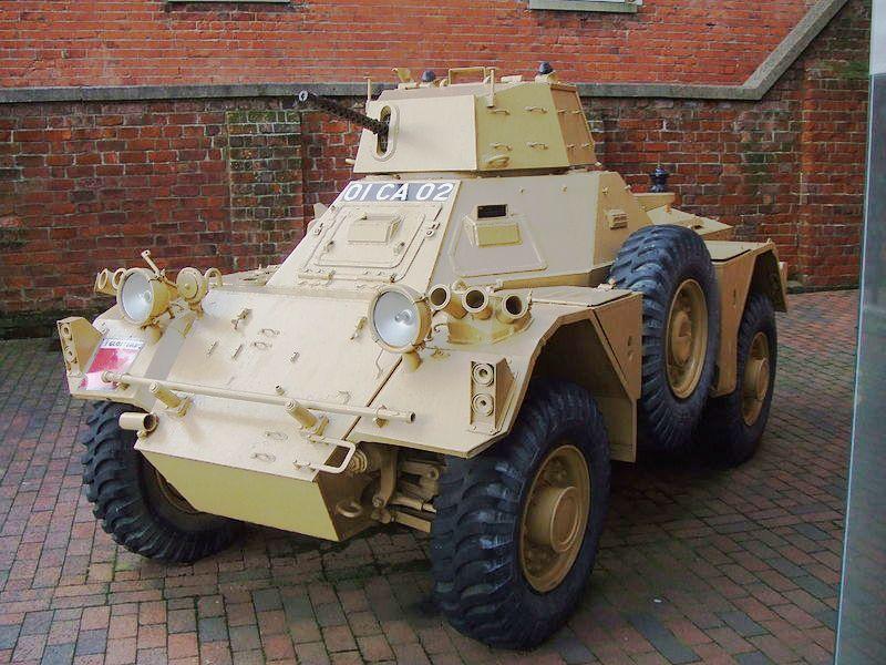 Fv701 H Daimler Ferret Scout Car Mk 2 At The Gloucestershire