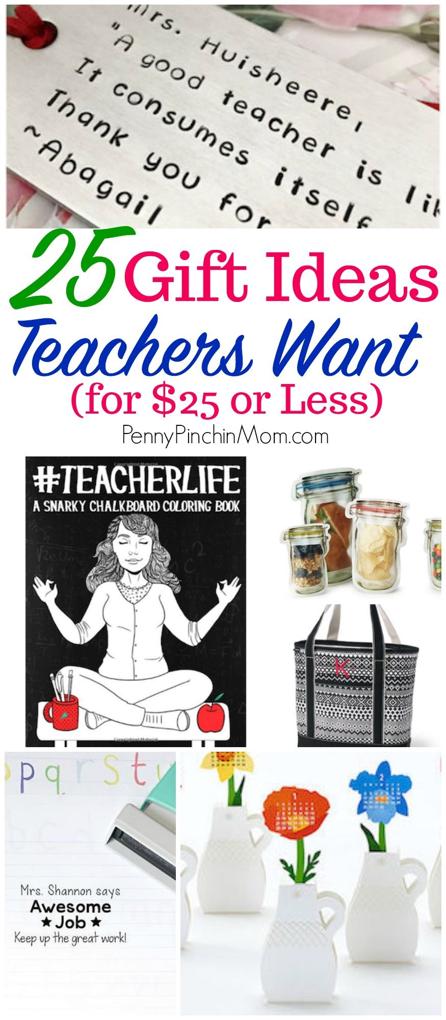 Affordable teacher gifts they will love preschool