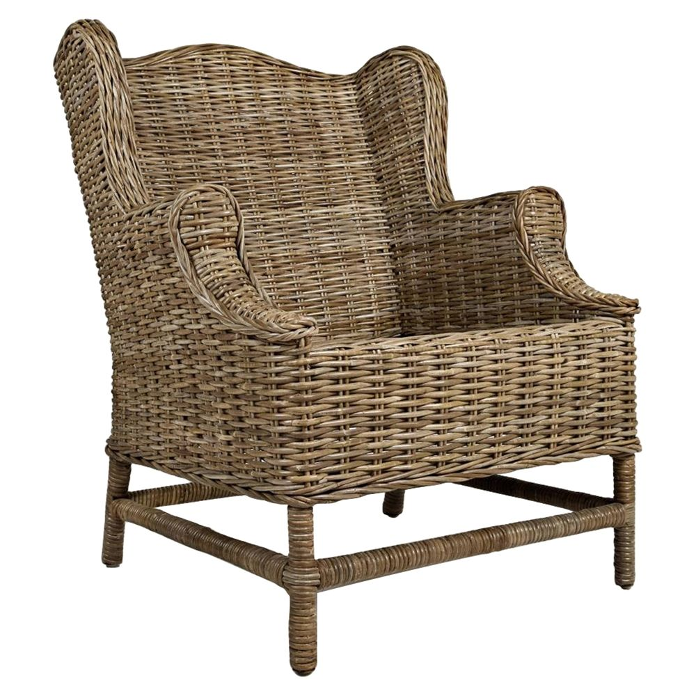 Fantastic Beachcomber Kubu Rattan Accent Chair Screened Porch Pabps2019 Chair Design Images Pabps2019Com