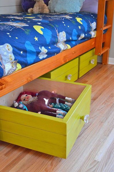 Delightful Rolling Toy Boxes Made From Drawers. Storage OrganizationStorage IdeasBox  ...