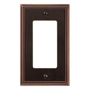 amerelle faux slate resin 1 duplex wall plate almond renaissance slate and craftsman bungalows