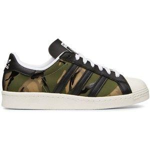 Adidas Superstar Camouflage Green