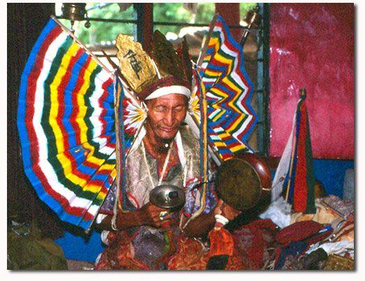 Nepalese shaman